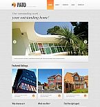 Real Estate Moto CMS HTML  Template 41960