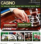 Casino Facebook HTML CMS  Template 41966