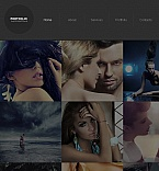 Art & Photography Facebook HTML CMS  Template 41969