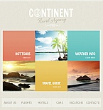 Travel Facebook HTML CMS  Template 41981
