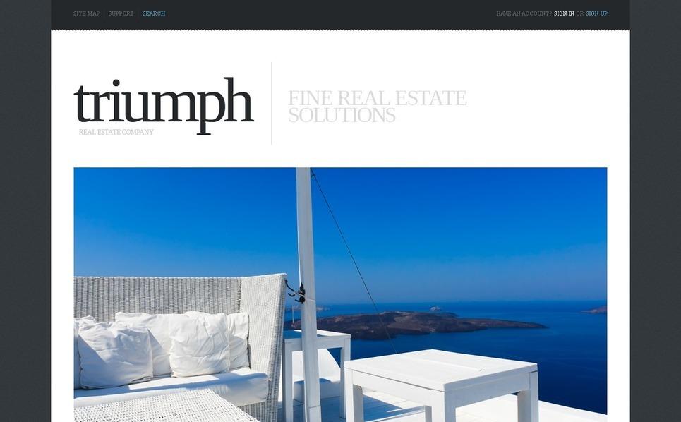 Plantilla Web Responsive para Sitio de Agencia inmobiliaria New Screenshots BIG