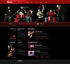 Music Website  Template 41992