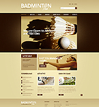 Sport Website  Template 41994