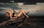 Art & Photography Website  Template 41998