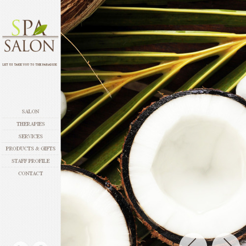 Spa Salon - Facebook HTML CMS Template