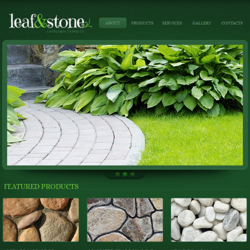 Leaf & Stone - Facebook HTML CMS Template