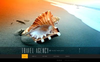 Plantilla Web #41926 para Sitio de  para Sitio de Agencias de viajes