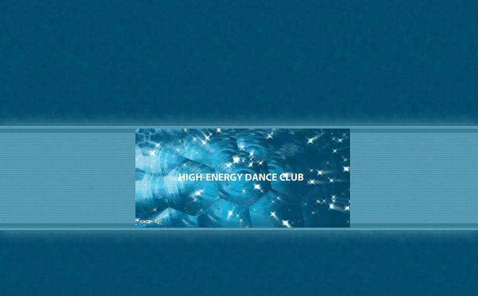 Szablon Intro Flash #4244 na temat: klub nocny New Screenshots BIG