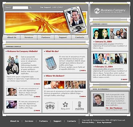 Многостраничный шаблон для сайта (4269)