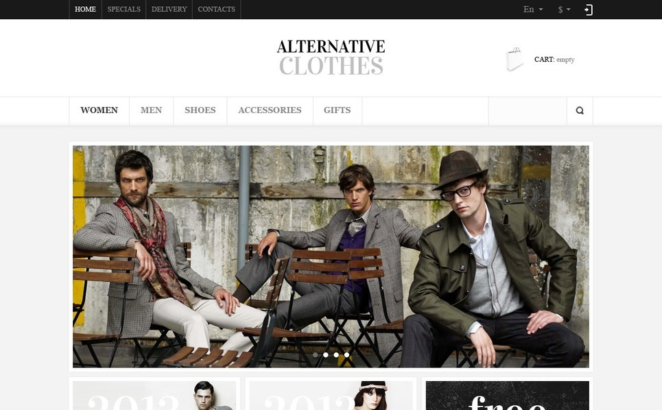 Responzivní PrestaShop motiv na téma Prodejna oblečení New Screenshots BIG