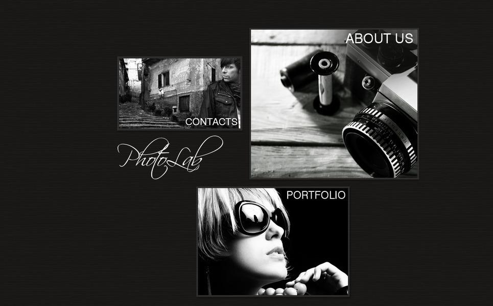 Шаблон фотогалереї на тему фотолабараторія New Screenshots BIG