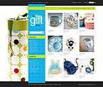 Gifts ZenCart  Template 42003