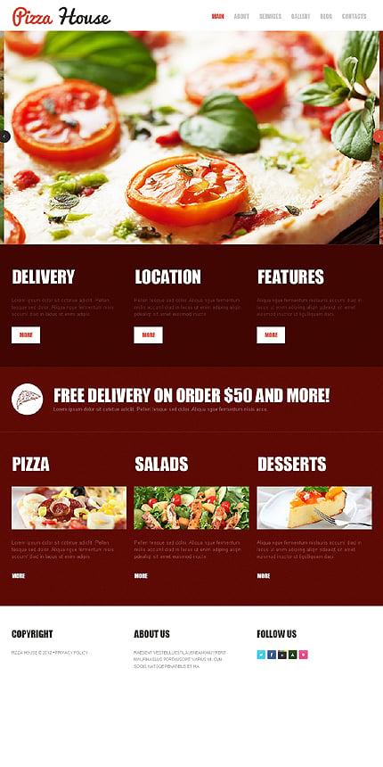 Joomla Theme/Template 42006 Main Page Screenshot