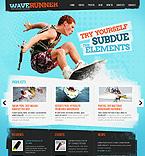 Sport PSD  Template 42014