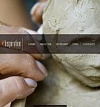 Art & Photography Facebook HTML CMS  Template 42020