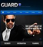 Security Facebook HTML CMS  Template 42022