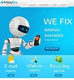 Electronics Facebook HTML CMS  Template 42025