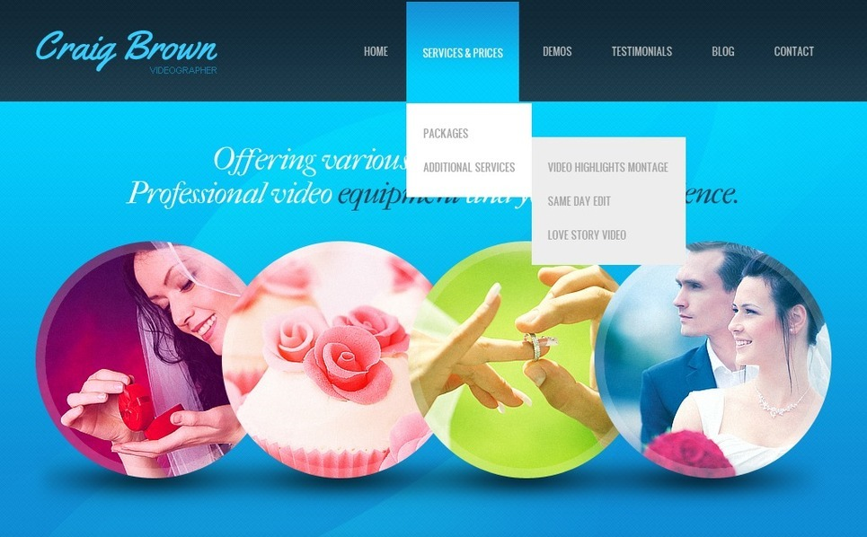 Joomla Template over Videograaf New Screenshots BIG
