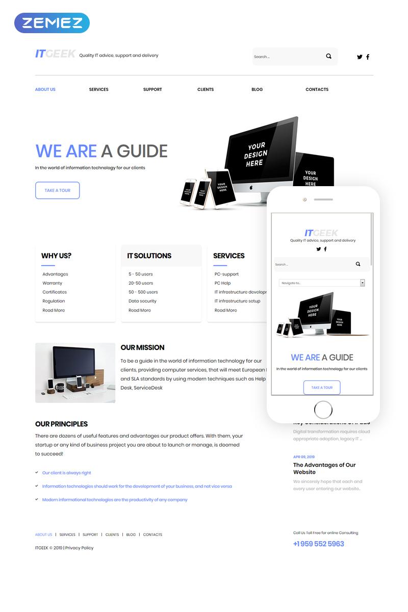 Joomla Theme/Template 42060 Main Page Screenshot