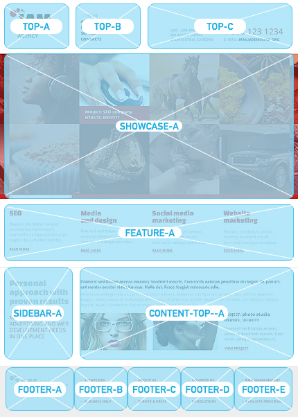 Joomla Theme/Template 42079 Main Page Screenshot