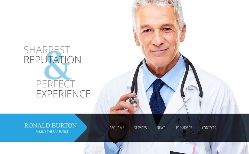 Modèle Web  pour site médical New Screenshots BIG