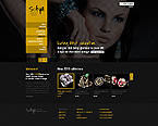 Jewelry Website  Template 42089