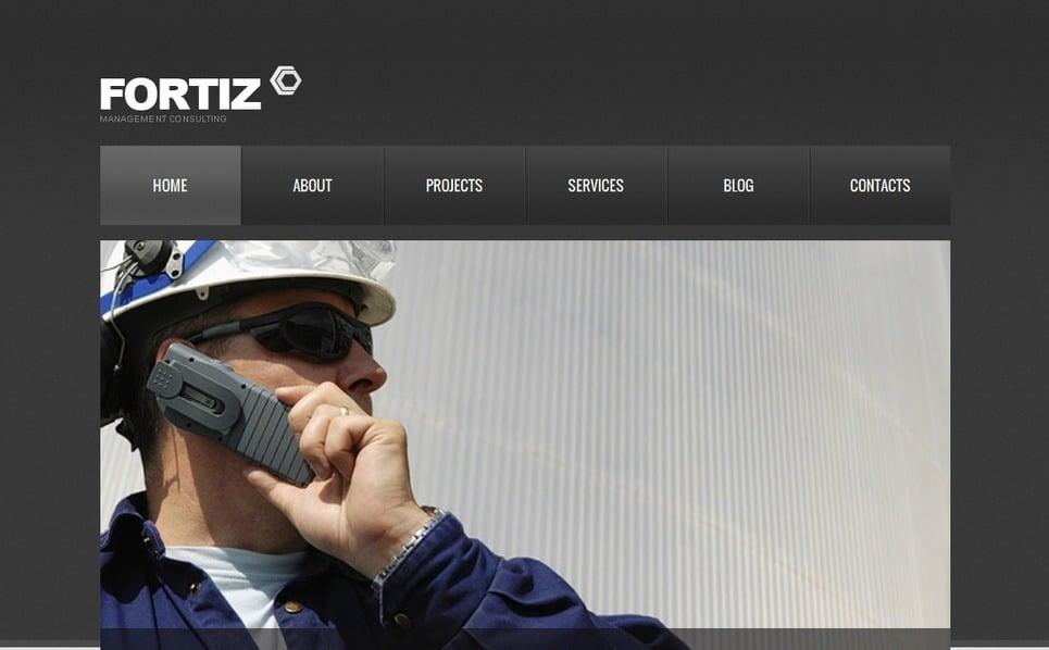 Plantilla Moto CMS HTML #42091 para Sitio de Industria New Screenshots BIG