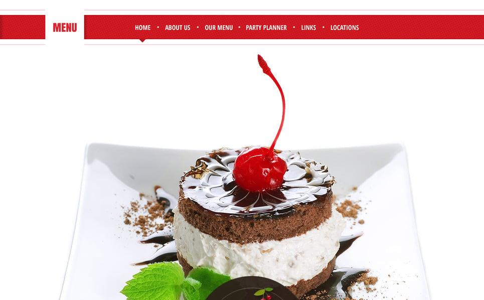 Premium Moto CMS HTML Template over Café en Restaurant New Screenshots BIG