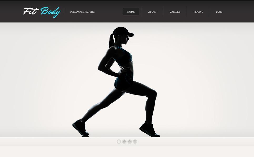 Premium Fitness  Moto Cms Html Şablon New Screenshots BIG