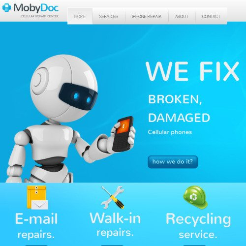 Mobydoc - Facebook HTML CMS Template
