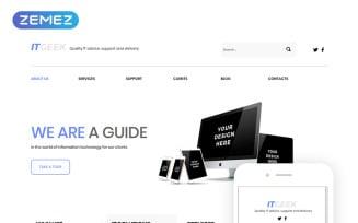 ITGeek - IT Services Clean Joomla Template