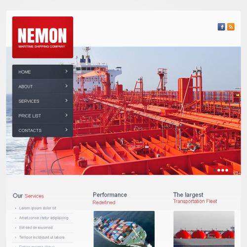 Nemon - Facebook HTML CMS Template