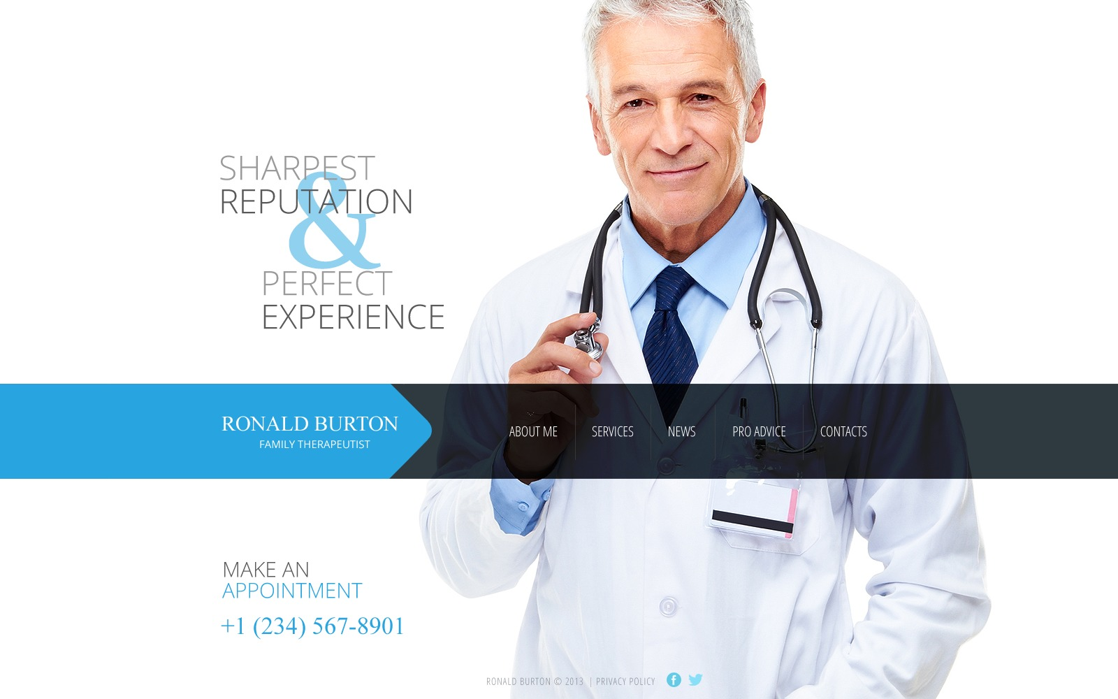 Medical Website Template - Medical website templates