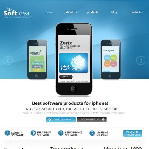 Soft Idea - Facebook HTML CMS Template