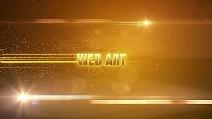 Заставка After Effects на тему веб дизайн №42038
