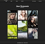 Art & Photography Moto CMS HTML  Template 42101