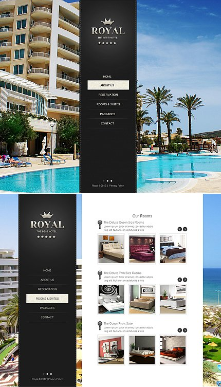 Hotels Moto Cms Html Template Website Templates