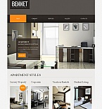 Real Estate Moto CMS HTML  Template 42105