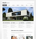 Architecture Moto CMS HTML  Template 42106