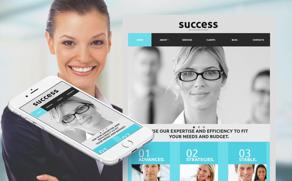 Luxusní Moto CMS HTML šablona na téma Byznys a služby New Screenshots BIG