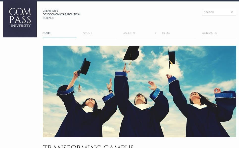 Responzivní WordPress motiv na téma Univerzitní webové stránky New Screenshots BIG