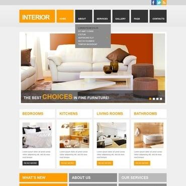 Interior U0026 Furniture Website Template
