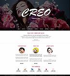Fashion Website  Template 42126