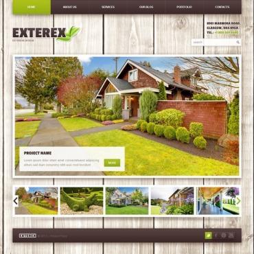 Great Exterior Design. WordPress Theme