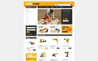 Tools Store VirtueMart Template