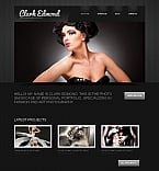 Art & Photography Moto CMS HTML  Template 42169