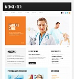 Medical Moto CMS HTML  Template 42175