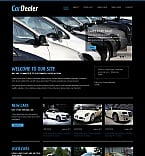 Cars Moto CMS HTML  Template 42176