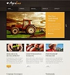 Agriculture Moto CMS HTML  Template 42177