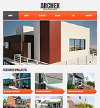 Architecture Website  Template 42178